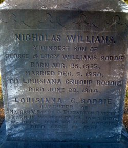Nicholas Williams Boddie