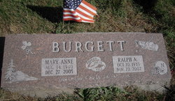 Mary Anne Burgett