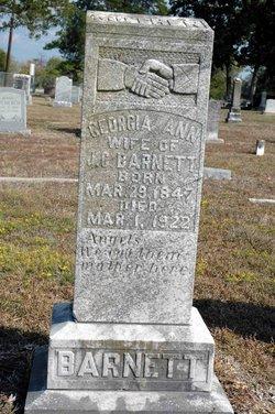 Georgia Ann <I>Lambert</I> Barnett