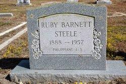 Ruby <I>Barnett</I> Steele