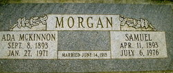 "Adria Prudence ""Ada"" <I>McKinnon</I> Morgan"