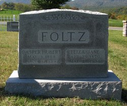 Eliza Jane <I>Huffman</I> Foltz