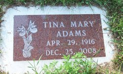 Tina Mary <I>Matson</I> Adams