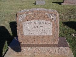 Carson Newton Snow
