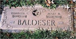 Mary Ethel <I>Basham</I> Baldeser
