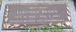 Lerender Brown