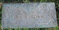 Gen J Brown