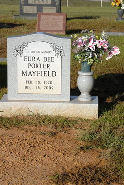 Eura Dee <I>Porter</I> Mayfield