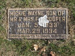 Mickie Wayne Cooper