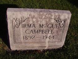 Irma <I>McCue</I> Campbell