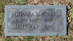 Roxianna Elizabeth <I>Guffey</I> Rogers