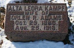 Alta Leora <I>Kampf</I> Adams