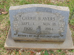 Carrie <I>Byerly</I> Ayers