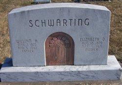 """Elizabeth D. """"Lizzie"""" <I>Miller</I> Schwarting"""