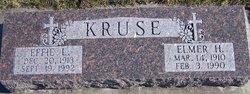 Elmer H Kruse
