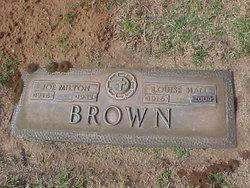 "Dr Joseph Milton ""Joe"" Brown"