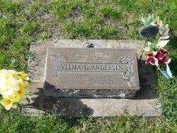 Velma G. <I>Pullen</I> Anderson
