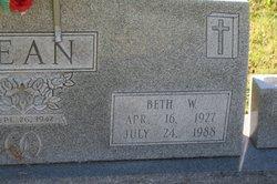 Beth W. Bean