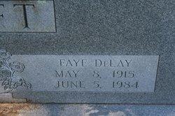 Faye <I>Delay</I> Clift