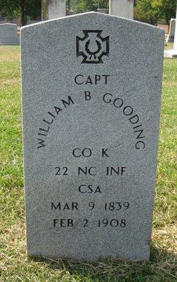 William B Gooding