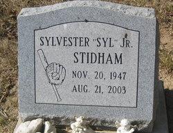 """Sylvester """"Syl"""" Stidham, Jr"""