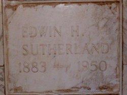 Edwin Hardin Sutherland