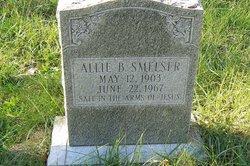 """Allie """"Lee"""" <I>Bishop</I> Smelser"""