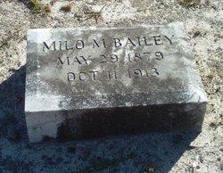 Milo M Bailey