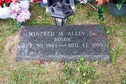 "Winfred M. ""Boson"" Alley, Sr"