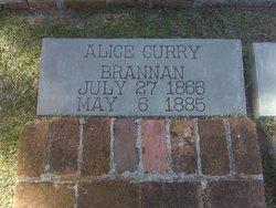 Alice A. <I>Curry</I> Brannan