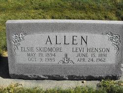Elsie <I>Skidmore</I> Allen
