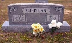 "Arelia Faye ""Nubie"" <I>Caffey</I> Christian"