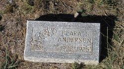 Clara R Anderson