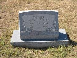 Nettie I O <I>Walters</I> Bible