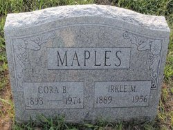 Cora Belle <I>Bullard</I> Maples