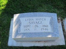 Lydia Lenora <I>Hatch</I> Savage