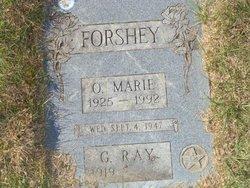 Ora Marie <I>McFee</I> Forshey