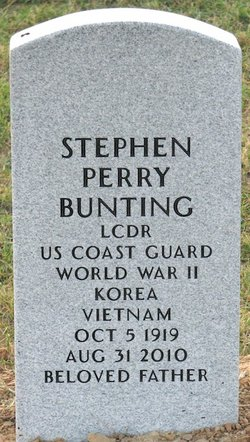LCDR Stephen Perry Bunting