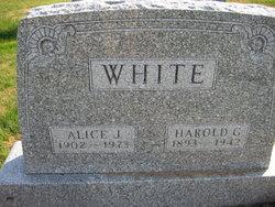 Harold G White