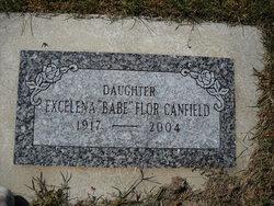 """Excelena """"Babe"""" <I>Flor</I> Canfield"""