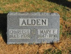Mary Elizabeth <I>Bragg</I> Alden
