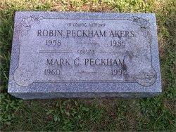 Robin <I>Peckham</I> Akers