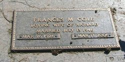 Frances M. Cole