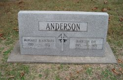 Rev Harrison Ray Anderson