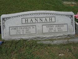 James Franklin Hannah Sr.