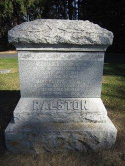 Mary <I>Ralston</I> Ralston