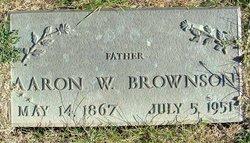 Aaron W Brownson
