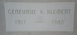 Genevieve K. Klement