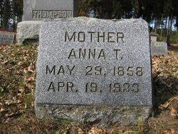 Anna Theodora <I>Alfsen</I> Thompson