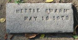 """Harriett """"Hettie"""" <I>Love</I> Swarm"""